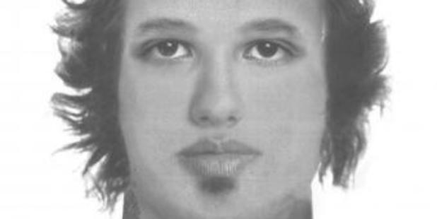 Police have released a sketch of the man who assaulted and stole from a woman in her Dinsdale home. Image / NZ Police