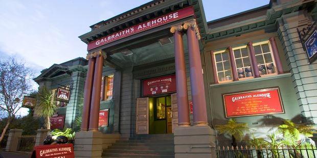 Galbraith's Alehouse on Eden Terrace. Photo / Galbraith's