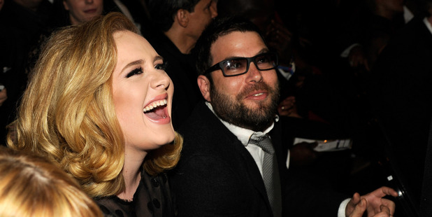 Adele and Simon Konecki are now married. Photo / Getty