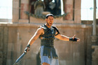 Russell Crowe with sword in a scene from the film 'Gladiator', 2000. Photo / Getty