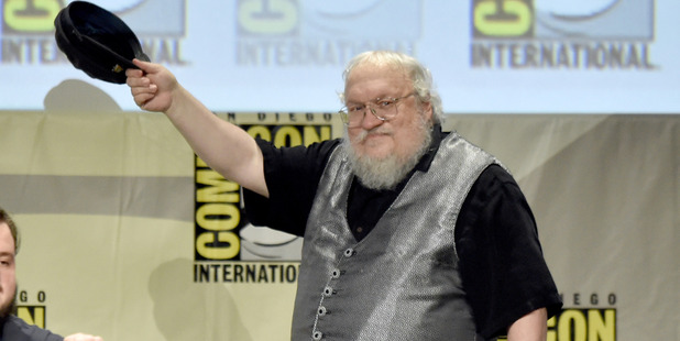 Writer George R.R. Martin attends HBO's Game Of Thrones panel. Photo / Getty