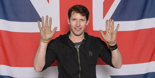 James Blunt's label wants him to quit being so sarcastic. Photo / Getty
