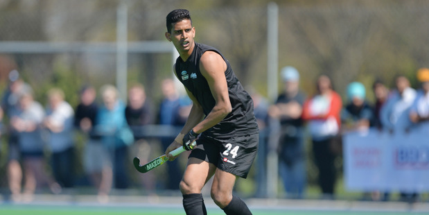 Arun Panchia has been named captain of the Black Sticks. Photo / Getty Images