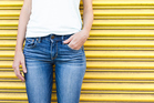 Skinny jeans can restrict free movement in areas such as the hips and knees, affecting the way we hold our bodies. Photo / Getty Images