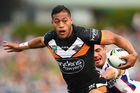 Tim Simona when playing for the Tigers. Photo / Getty