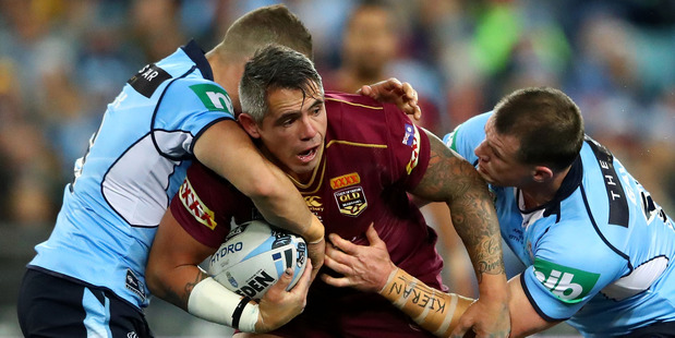 Midweek State of Origin fixtures could be a thing of the past if next year's Sunday match in Melbourne is successful. Photo / Getty Images.
