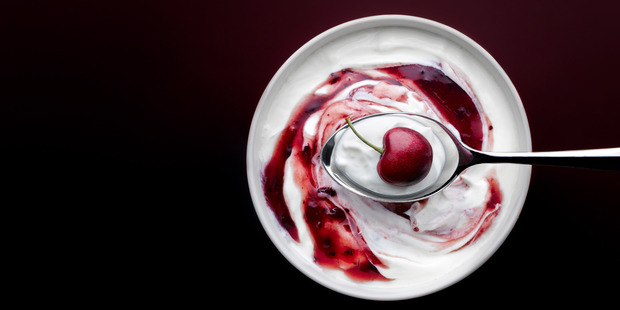 Choose yoghurt that has not been pasturised to get all those probiotics. Photo / Getty.