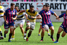 Victor Vito of La Rochelle runs for ball during the Top 14 match against Stade Francais. Photo/Getty Images
