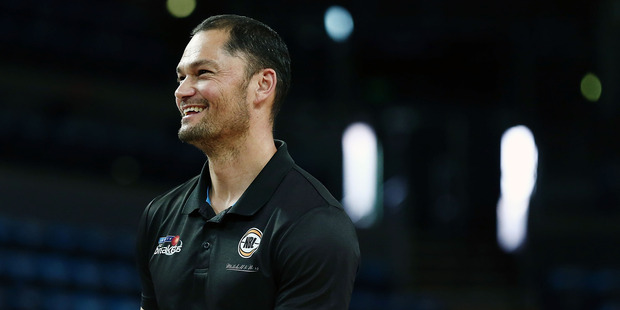 Assistant Coach Judd Flavell during his time with the Breakers. Photo / Getty Images