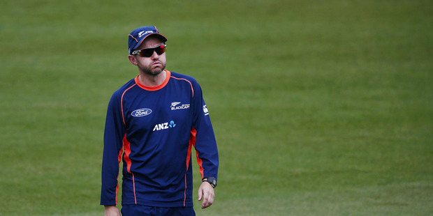 Black Caps coach Mike Hesson. Photo / Getty Images.