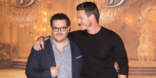 Much speculation has been made over the relationship between Josh Gad and Luke Evans' characters. Photo / Getty Images