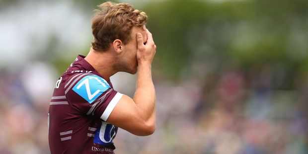 Daly Cherry-Evans of the Sea Eagles. Photo / Getty