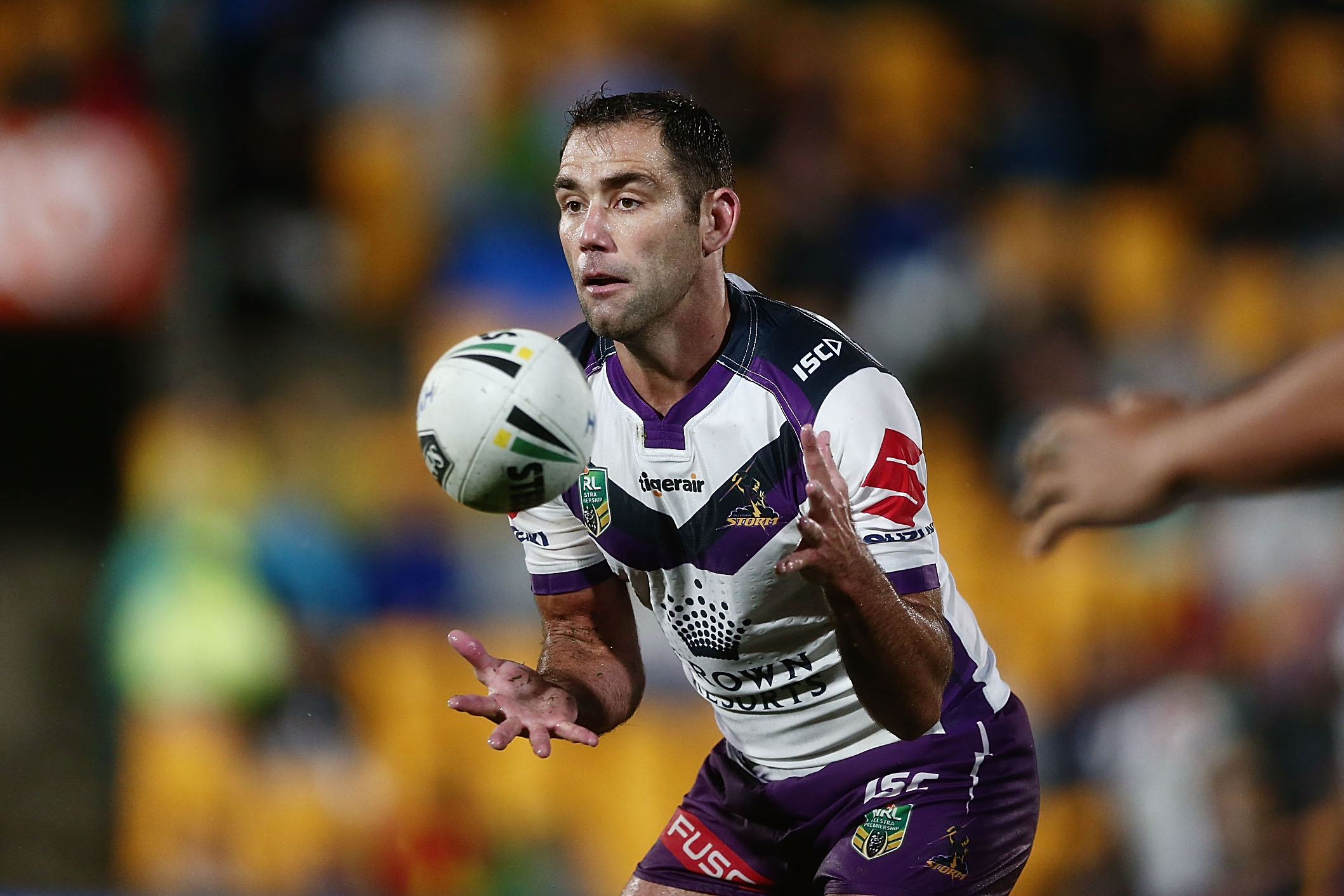 Cameron Smith was superb against the Warriors. Photo / Getty Images