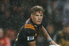Damian McKenzie in action for the Chiefs against the Hurricanes at FMG Stadium Waikato on Friday night. Photo / Getty Images.
