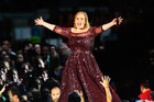 Adele performs in Adelaide. Photo / Getty