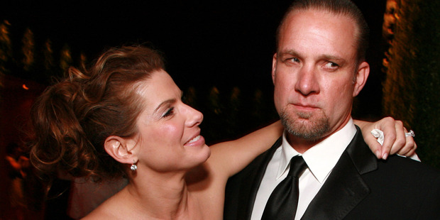 Jesse James has moved on from his divorce from Sandra Bullock, who he cheated on multiple times. Photo / Getty