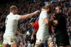 England and the All Blacks last played at Twickenham in 2014. Photo / photosport.nz
