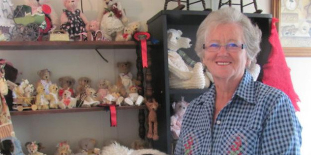 Donece McEwan's home studio is packed with her creations. Photo / Maureen Bishop