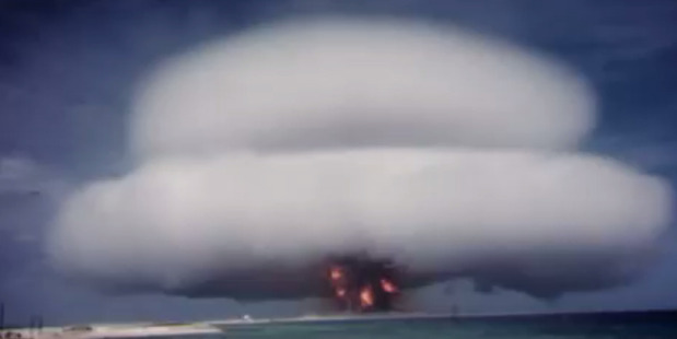 Loading Nuclear test blast footage has just been declassified. Picture / Supplied