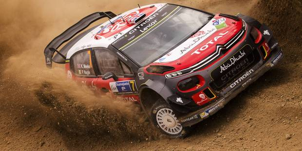 Kris Meeke on his way to winning WRC Mexico. Photo / Red Bull Media