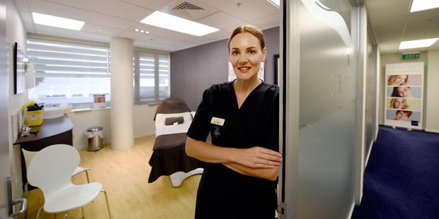 Botox registered nurse Lisa Van Dyk, Caci Tauranga. Photo/George Novak