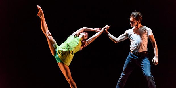 Run Mary Run, choreographer Arthur Pita and dancers Natalia Osipova and Sergei Polunin, is part of a triple bill.