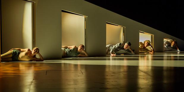 John Parker's minimalist-yet-fun set enhances Peer Gynt. Photo/Supplied