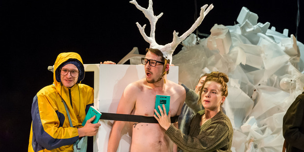 The Auckland Theatre Company's production of Peer Gynt is an odyssey of self-discovery for a raunchy Don Juan- type. Photo/Supplied