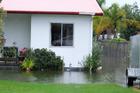Flooding in Waihi Beach after this week's heavy rain. Photo/Melanie Camoin