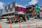 Demolition of the Event Cinema and Queensgate in Lower Hutt is now complete. Photo / File