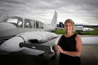 Bev Power from Sunair is thrilled the company has been selected as an approved supplier of air travel throughout the North Island for government departments. Photo/Andrew Warner