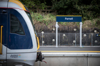 The Parnell train station is finally open for passengers. Photo/Michael Craig