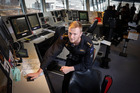 Tauranga's Justin Priestley, a marine engineer on board the HMNZS Canterbury. Photo/Andrew Warner