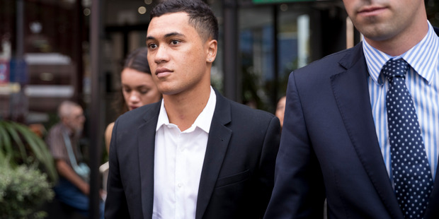 Loading James Rolleston has pleaded guilty to causing a crash which left him and his friend seriously injured last July. Photo / Dean Purcell