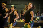 Mt Roskill Grammar students practice their dance routine before Polyfest. The Jamaican group is performing on the Diversity Stage this year. Photo/File