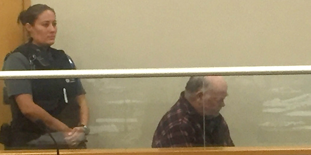 Colin Jack Mitchell, 59, in the Auckland District Court yesterday. Photo / Amelia Wade