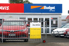 Whanganui's Avis Budget car rentals office is up for sale. PHOTO/ BEVAN CONLEY
