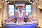 Emirates is installing new bars in its A380s.  Photo / Supplied.