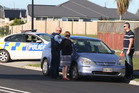 A young cyclist was struck by a car on the corner of Sandhurst Dr and Grenada St, Papamoa. Photo/John Borren