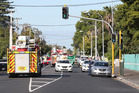 A pedestrian has been killed at the corner of St George St and Great South Rd in Papatoetoe. Photo / Jason Oxenham