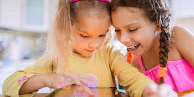 Most New Zealand children have no limits when it comes to screen-time, a University of Auckland study has found. Photo / File