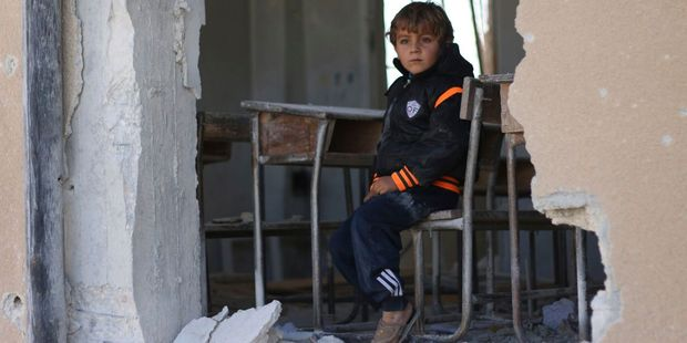 The disruption to their education will create a generation of lost boys. Photo / Unicef