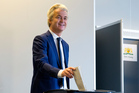Geert Wilders' performance has been closely watched by right-wing politicians elsewhere in Europe heading into their own elections. Photo / AP