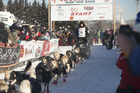 Dallas Seavey, four-time Iditarod winner and reigning champion, is aiming for his fifth Iditarod crown in six years. Photo / AP