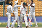 The test series between India and Australia has so far proven spiteful. Photo / AP