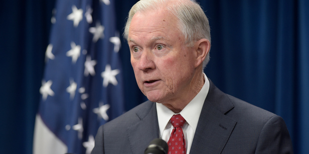 Loading Attorney General Jeff Sessions apparently gave the US's top federal prosecutors a pep talk, two days before telling them to leave their positions. Photo / AP