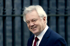 British Secretary of State for Exiting the European Union, David Davis warns off any Conservative MPs who might consider backing either amendment. Photo / AP