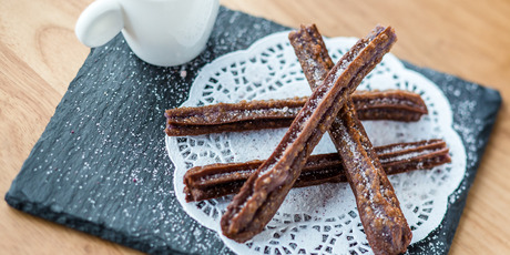 The churros on the menu at Azon. Photo / Babiche Martens