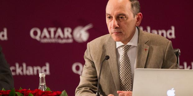 Qatar Airways chief executive Akbar Al Baker. Photo / Nick Reed