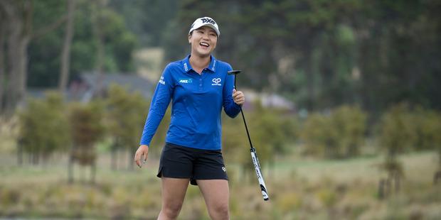 Lydia Ko...putting the clubs away at 30. Photo / Brett Phibbs